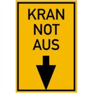 Kran Not Aus