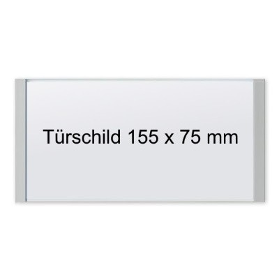 KRISTALLINO.s - Türschild, Klebemontage
