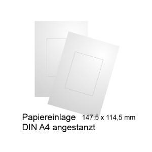 Papiereinlage für Türschild A6