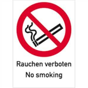 Rauchen verboten, No smoking