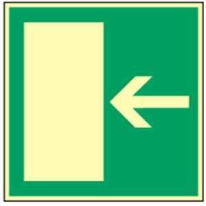 Rettungsweg rechts/links quadratisch