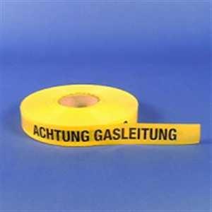 Trassenwarnband - Achtung Gasleitung