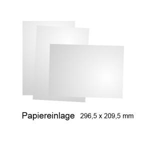 Frankfurt-Papiereinlage für Wegweiser DIN A4