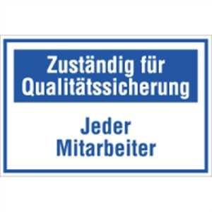 Zuständig für Qualitätssicherung
