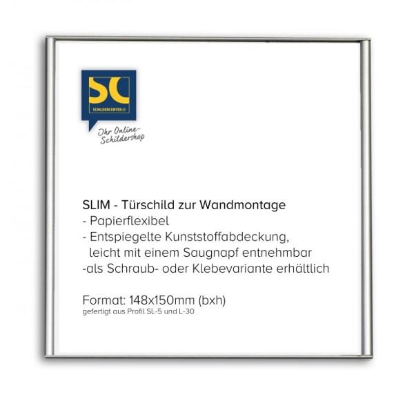 SLIM-Türschild