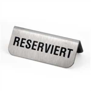 Tischaufsteller - Reserviert