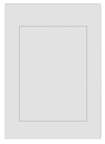 Tansparentpapier satiniert A4, perforiert (1xA5)