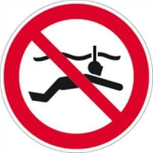 Schnorcheln verboten