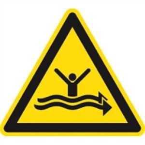 Warnung vor starker Strömung