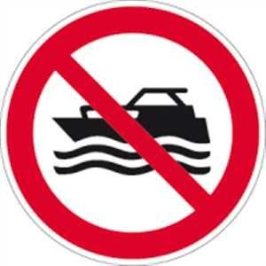 Maschinenbetriebene Boote verboten
