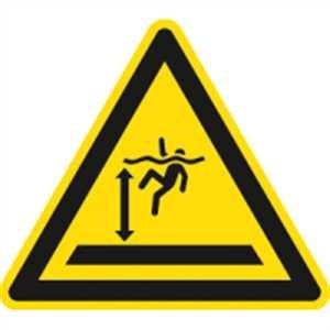 Warnung vor tiefem Wasser