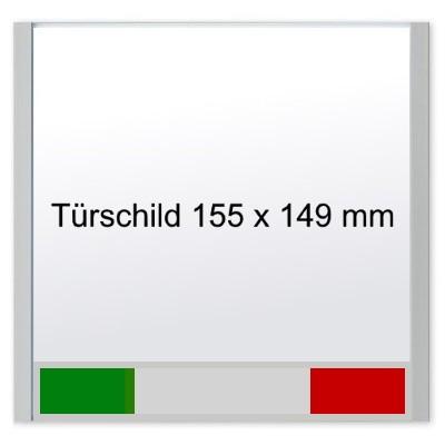 KRISTALLINO.s - Türschild Frei   Besetzt, Schraubmontage