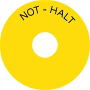 Not - Halt