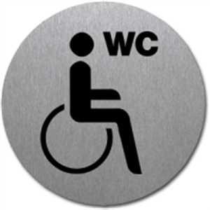 Piktogramm - WC Behinderte
