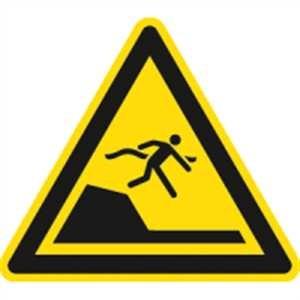 Warnung vor unvermittelter Tiefenänderung