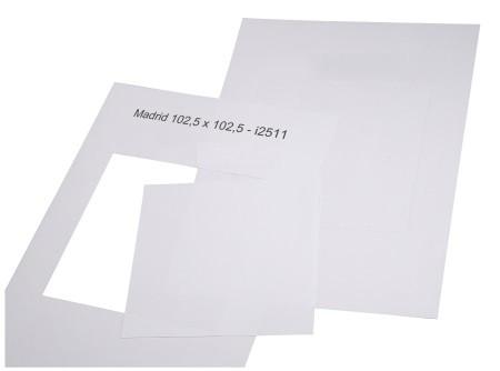 Madrid Papiereinlagen Türschild 105