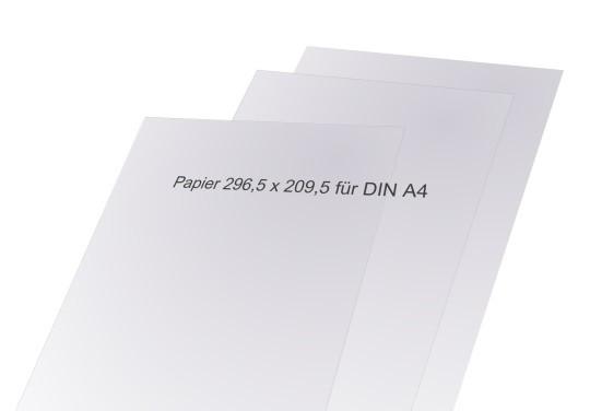 Madrid Papiereinlagen für Schilder DIN A4