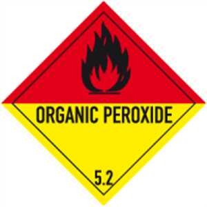 Organisches Peroxid mit Text - ORGANIC PEROXIDE