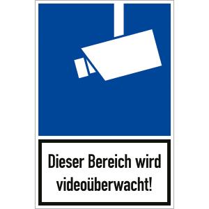 Dieser Bereich wird videoüberwacht