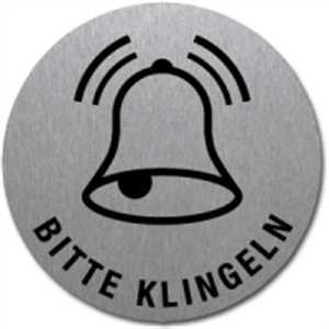 Piktogramm - Bitte klingeln